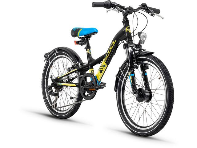 s'cool XXlite 20 7-S Børnecykel steel gul/sort (2019)   City-cykler